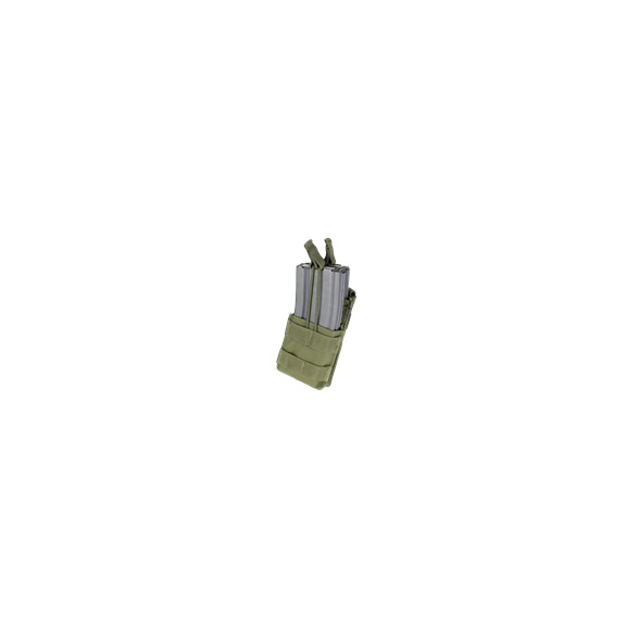 Ładownica molle Single Stacker M4 Mag Pouch (MA42-001) - Olive Green