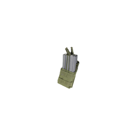 Condor® Ładownica molle Single Stacker M4 Mag Pouch (MA42-001) - Olive Green