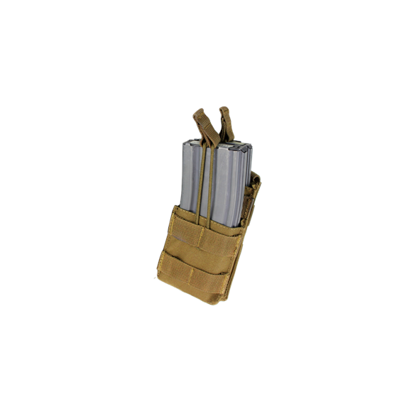 Single Stacker M4 Mag Pouch (MA42-003) - Coyote / Tan