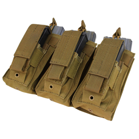 Condor® Ładownica molle Triple Kangaroo Mag Pouch (MA55-003) - Coyote/Tan
