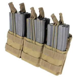 Ładownica molle Triple Stacker M4 Mag Pouch (MA44-003) - Coyote/Tan