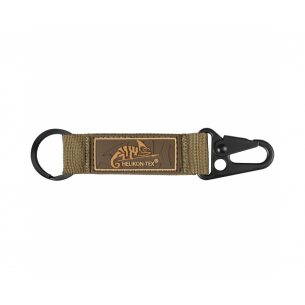 Snap Hook KEYCHAIN with Logo - Nylon - Coyote