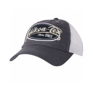 Helikon-Tex® Trucker Logo Kappe - Cotton Twill - Shadow Grey
