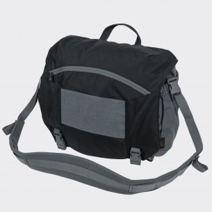 Torba URBAN COURIER BAG Large® - Cordura® - Czarna/Shadow Grey