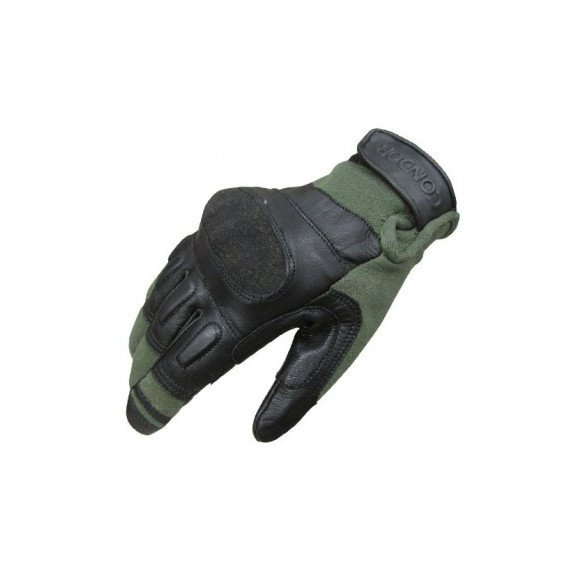 Kevlar Tactical Gloves (220-007) - Sage