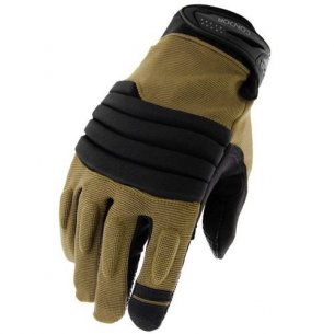 Stryker Padded Knuckle Gloves (226-003) - Coyote / Tan