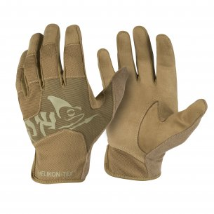 All Round Fit Tactical Gloves Light® - Black / Shadow Grey A