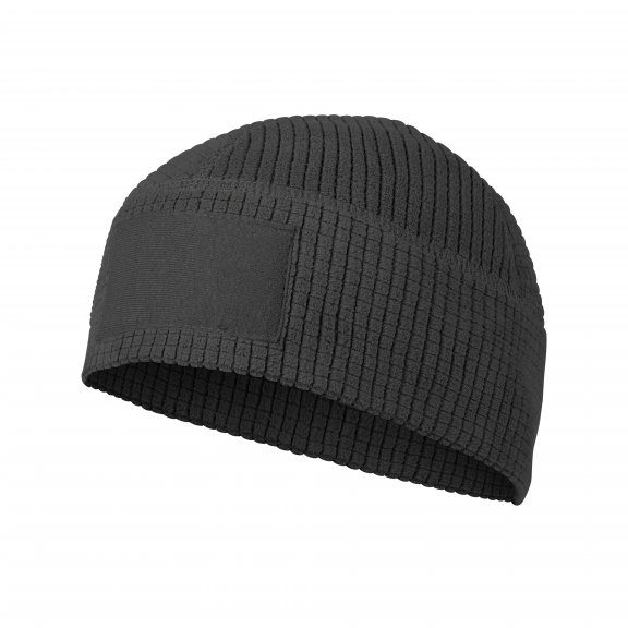 RANGE Beanie® Cap - Grid Fleece - Black