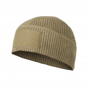 RANGE Beanie® Cap - Grid Fleece - Coyote