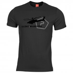 AGERON T-shirts - Helicopter - Black