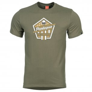 AGERON T-shirts - Victorious - Olive