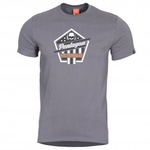 T-shirt AGERON - Victorious - Wolf Grey
