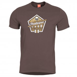 AGERON T-shirts - Victorious - Terra Brown