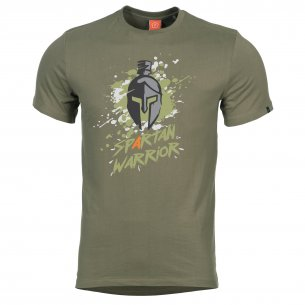 AGERON T-shirts - Spartan Warrior - Olive