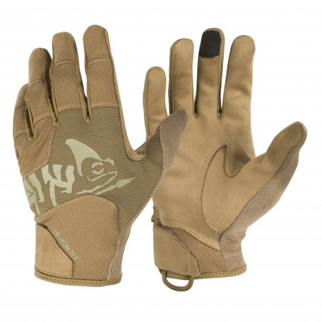 Helikon-Tex® All Round Tactical Light® gloves - Coyote/Adaptive Green A