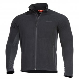 ALPHA TACTICAL Jacket - Grid Fleece - Black