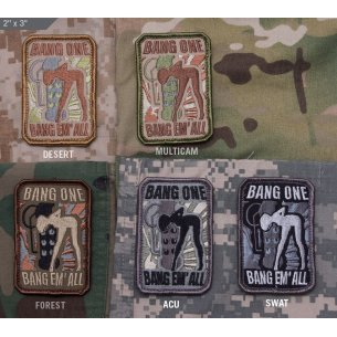 Mil-Spec Monkey Bang One, Bang Em' All (Small) - Velcro patch