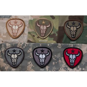 Bull Skull velcro patch