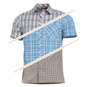 Snoop Long Shirt - Blue Checks