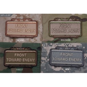 Front Toward Enemy - Velcro patch