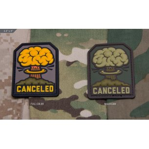 Canceled PVC - Velcro patch