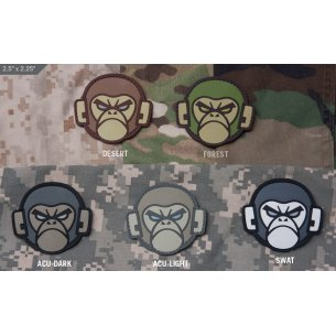 Monkey Head PVC velcro patch