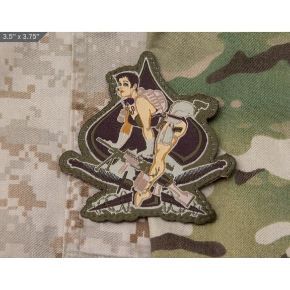 Aces High - Velcro patch