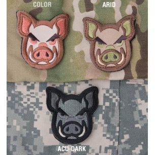 Mil-Spec Monkey Pig Head velcro patch