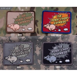 Pork Chop Express velcro patch