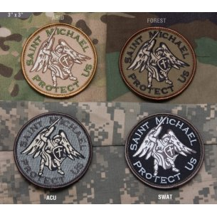 Mil-Spec Monkey Saint Michael velcro patch