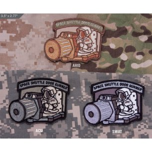 Shuttle Door Gunner velcro patch