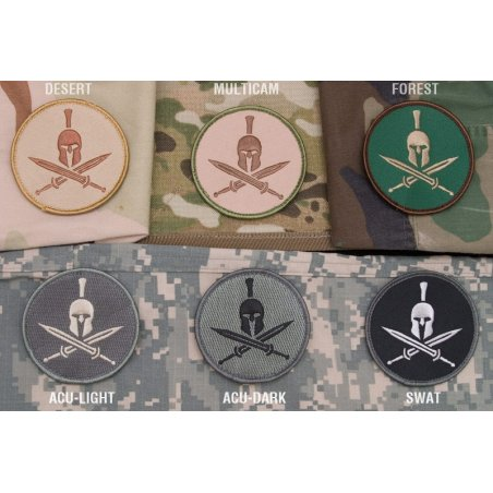 Mil-Spec Monkey Spartan Helmet velcro patch