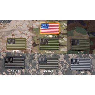U.S. Flag PVC velcro patch