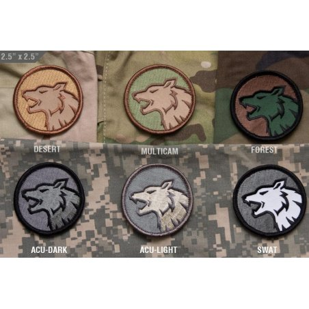 Mil-Spec Monkey Wolf Head velcro patch