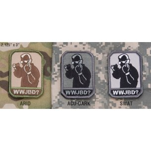 Mil-Spec Monkey WWJBD  velcro patch