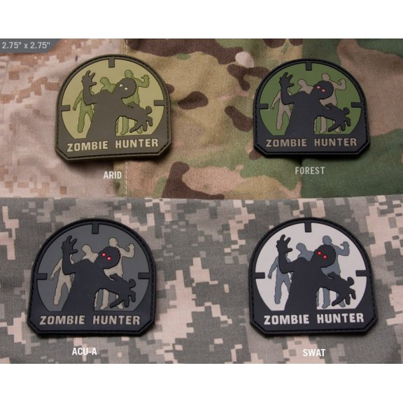 Mil-Spec Monkey Zombie Hunter PVC velcro patch