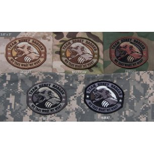 Mil-Spec Monkey Honey Badger velcro patch