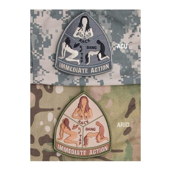 Immediate Action velcro patch