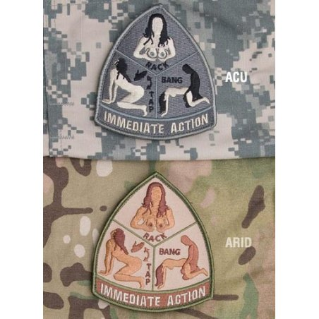 Mil-Spec Monkey Immediate Action velcro patch