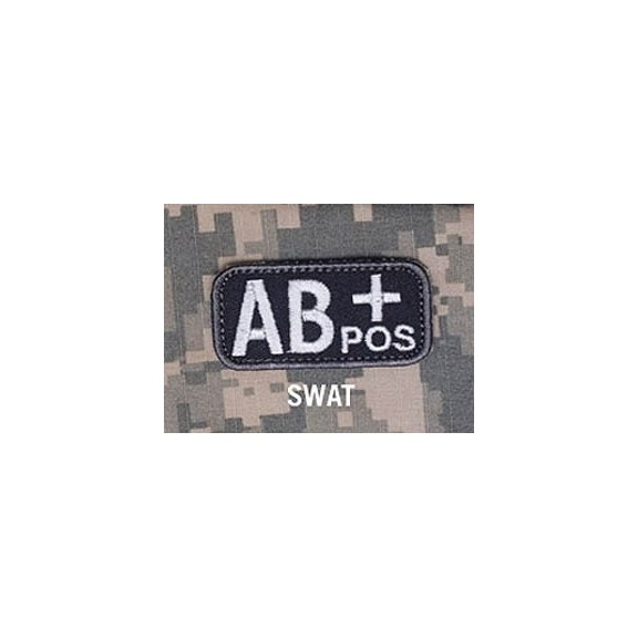 Blood Type velcro patch - SWAT