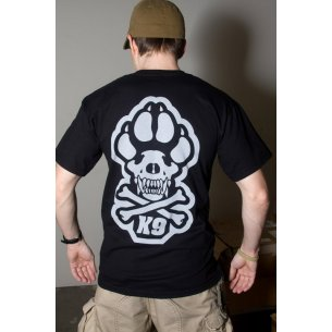 Mil-Spec Monkey K9 T-shirt - Cotton - Black