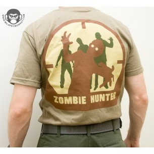 Zombie Hunter T-shirt - Cotton - Arid
