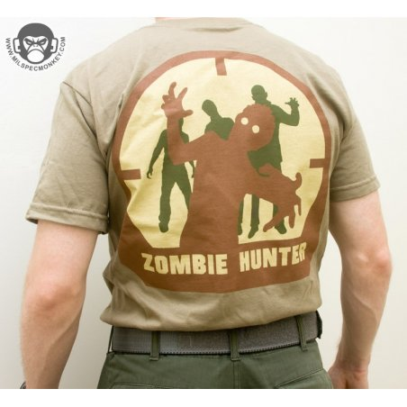 Mil-Spec Monkey Zombie Hunter T-shirt - Cotton - Arid