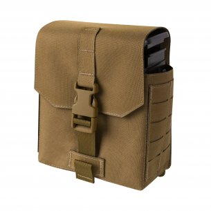 Double Open-Top M14 Mag Pouch (MA24-001) - Olive Green