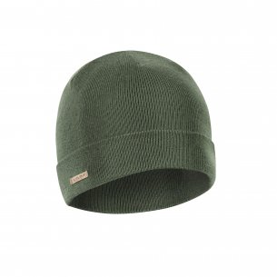 Winter Merino Beanie Cap  - Adaptive Green