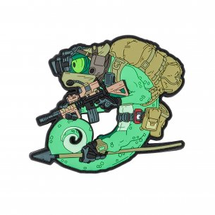 Chameleon Operator Patch - Olive Green
