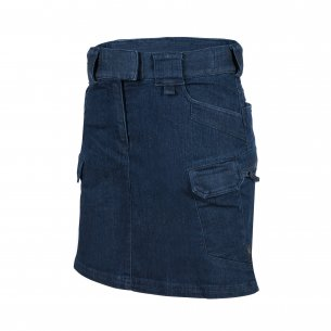 Helikon-Tex® WOMEN'S Urban Tactical Skirt - Denim Mid - Dark Blue