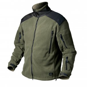 HELIKON-TEX® LIBERTY FLEECE JACKET - Olive Green / Czarny
