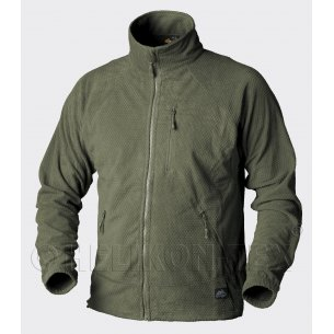 Helikon-Tex® ALPHA Grid Fleece jacket -Camouflage / Colour: Olive Green