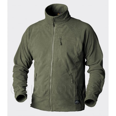 Helikon-Tex® Bluza ALPHA Grid Fleece - Olive Green